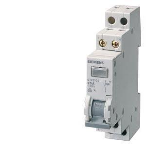 Preisvergleich Produktbild 5TE8105-KONTROLLSCHALTER 20A 1S 1 LAMPE 230V für LANGE LEITUNGEN