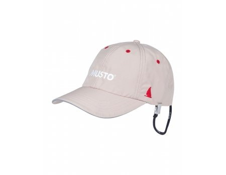 Musto Fast Dry Crew Cap in Light Stone AL1390