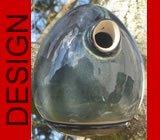 hochwertiges design Keramik Vogelhaus - Nistkasten -Tree Petrol