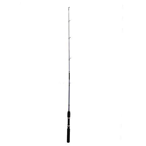 Forfar Caña de pescar telescópica exterior Caña de pescar de hilado señuelo portátil Sección alimentador Sea Fish Tackle Equipo de polo 1.2M