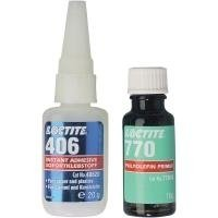 Loctite® 406/770 Polyolefin-Klebeset 142457 1 Set -