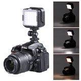 Neewer® CN-LUX360 5400K regulable LED Luz de vídeo / lámpara de videocámara , Panel de Luz LED , foco Antorcha para Canon Nikon Cámara Digital DSLR o Videocámara + Suave Difusor - Neewer - amazon.es