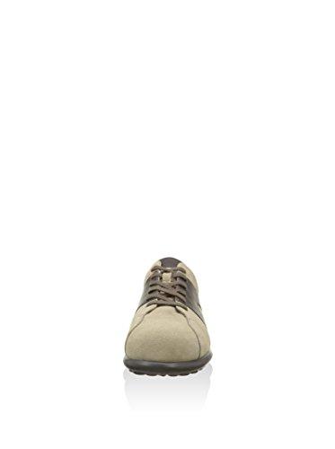 Basket Camper Pelota XL M'S en daim beige sable et cuir marron e pelle marrone Brun