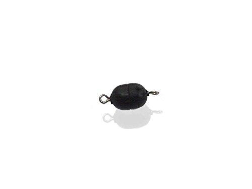 Creative Beads Magnetverschluss Mini-Powerclip DE, 8x6mm, 3 Stück, schwarz matt