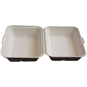 Stalwart CB611 Biodegradable Food Box (Pack of 250) Test