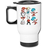 Mensuk Personalized Dr. Seuss' Horton Hears A Who Car Travel Water Bottle