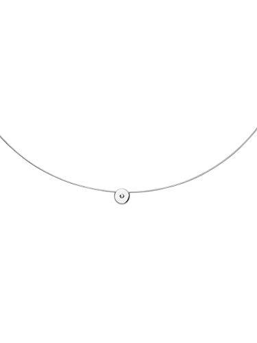 Skagen Damen-Ketten mit Anhänger & Anhänger Edelstahl Diamant SKJ1167040