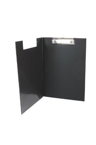 Aufklappbare Klemmbrettmappe DIN A4 schwarz Made in Germany