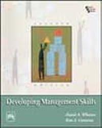 Developing Management Skills by David A. Whetten (2007-08-02)