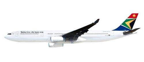 Herpa 612074 South African Airways Airbus A330-300