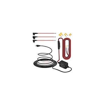 Dash-Cam-Hardwire-Kit-Mini-USB-harter-Draht-Auto-Ladegert-Kabelsatz-12V-auf-5V-fr-Dash-Kameras-GPS