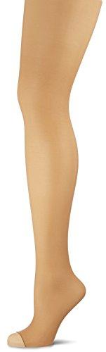 Wolford Damen Luxe 9 Toeless Tights Strumpfhose, 10 DEN, Beige (Gobi 4365), Medium -