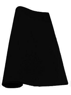 Velours-Teppich, zum Zuschneiden, schwarz, ideal für Audio-Sub-Gehäuse, Autoarmaturen, Auto-Innenraum, Hutablage, Dach, Kofferraum, Wohnwagenetc.