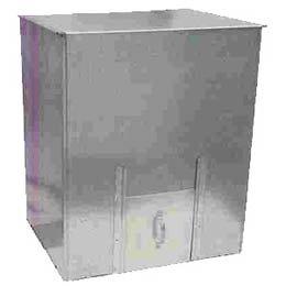 Galvanised Coal Bunker - (250kg Capacity)