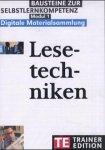 Lesetechniken, Trainer-Edition, 1 CD-ROM