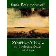 Symphony Nr. 2 e-Moll op. 28: Noten, Partitur für Orchester (Dover Music Scores)