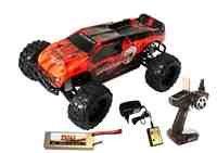 Truck Spur Spielzeug Monster (DF Models 3076 - Hot Hammer 5 - RTR Brushless Truck 1:10XL)
