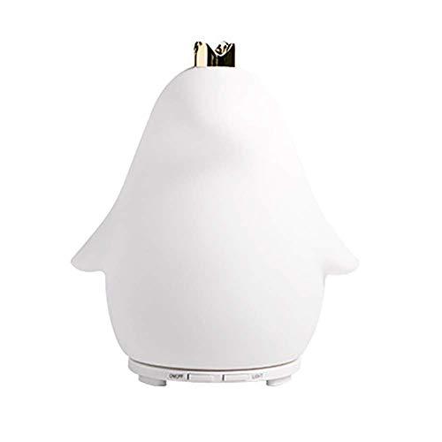 LLAS 50ml Mini Ultraschall Cool Mist Luftbefeuchter Ätherisches Öl Diffusor Room Decor mit Nachtlicht Aroma Diffuser für Office Home Spa Yoga