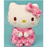 Sanrio Hello Kitty Sakura kimono stuffed S -