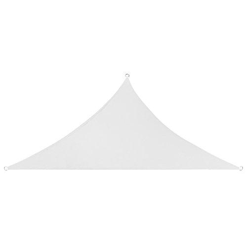 Gutemeile Voile d'ombrage Triangulaire Toile Solaire pour Balcon Jardin Terrasse Extérieur 3 x 3 x 3 m