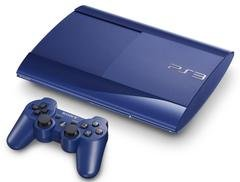 Console PS3 Ultra slim 500 Go Bleue