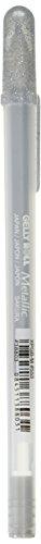 Gelly Roll Metallic Medium Point Pen Open Stock-Silver (Stock Medium Point Open)