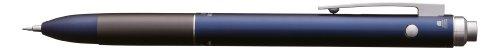 Tombow SB-TZLA44 - Penna multifunzione Zoom L102 con tre punte: punta nera e rossa e mina da portamine, colore blu