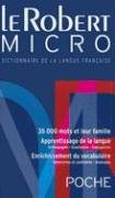 Le Robert Micro : Dictionnaire d'apprentissage de la langue franaise Version broche