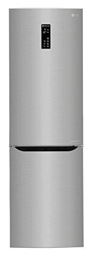 LG Electronics GBB 59 PZMZS Kühl-Gefrier-Kombination/A++ / 190 cm / 240 kWh/Jahr / 225 L Kühlteil / 93 L Gefrierteil/Digitaldisplay mit Temperaturregelung/stahl