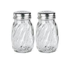 Anchor Hocking Swirl Glass Salt and Pepper Shaker with Lid, 3?oz. (Set of 2) by Anchor Hocking