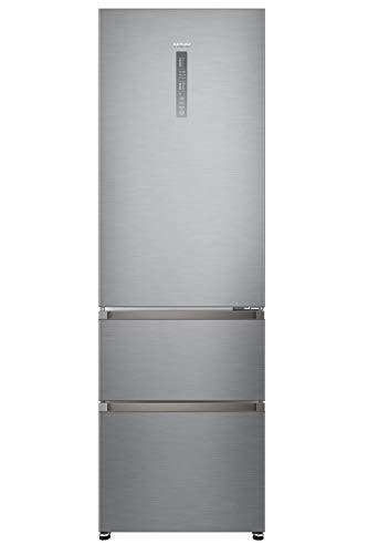 Haier A3FE735CGJE Kühl-Gefrier-Kombination (Gefrierteil unten)/A++/190 cm/265 kWh/Jahr/233 L Kühlteil/97 Gefrierteil/Inverter Kompressor/Total No Frost
