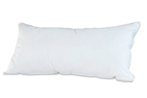 Badenia Bettcomfort Kissen Trendline Comfort, 40 x 80 cm, weiß