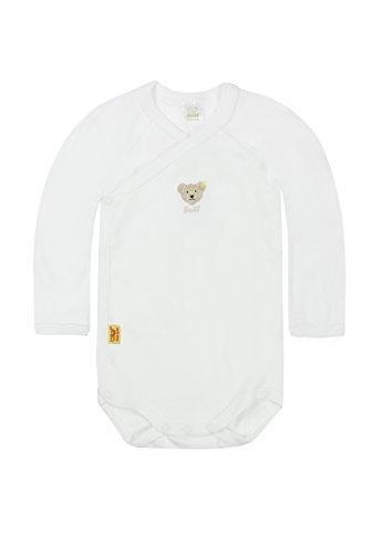 Steiff - Baby Body 0008503 Weiß (bright white ) 68 (Herstellergröße: 68)