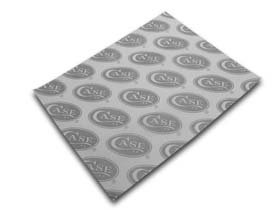 CASE XX White and Gray Wrapping Tissue Paper for Pocket Knives