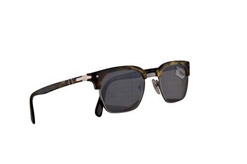 Persol 3199-S Sonnenbrille Tortoise Grün Braun Mit Grauen Gläsern 50mm 1079R5 PO 3199S PO3199S PO3199-S