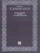 ALFRED 00 EP9607 CANON IN D   MUSIC BOOK