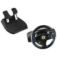 PC, PlayStation 2 - Lenkrad Ferrari GT 2in1 Rumble