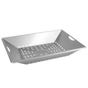 THÜROS Kohleschale Edelstahl für THÜROS T4 Grillfläche 40x60 cm