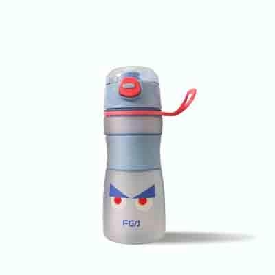 Tasse en Plastique Portable Hommes et Femmes Voyage Coupe Sport Eau-Bleu 540ml