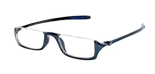 5449c106cf Rainbow safety EcoClear Half Moon Reading Glasses Flora FLR+2.50D