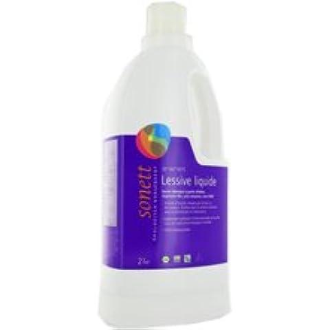 Sonett Detersivo Liquido 2L biancheria invio Rapid e curata–Prodotti Bio Agree per AB–(prezzo per Unità)