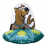 """Scooby-Doo 36"""" Alien Spaceship Supershape Foil Balloon Party Ware Decoration"""