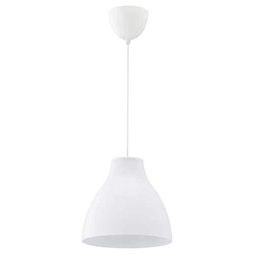 Melodi Hängeleuchte (195cm), Plastik, White, 26 x 28 x 28 cm [Energieklasse A++] -