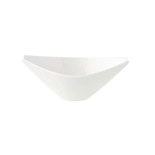 Villeroy & Boch Flow Sauciere/Suppentasse, Premium Porzellan, weiß