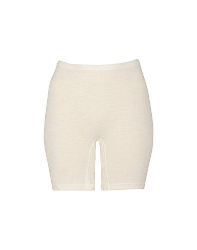 Dilling Merino Shorts für Damen - Unterwäsche aus 100% BIO-Merinowolle Natur 36