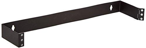 9 Flush-mount (Monoprice Wandhalterung, einseitig schwarz 1.75x9x4 inch (1U))