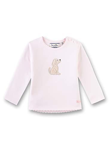 Sanetta Baby-Mädchen Sweatshirt, Rosa (Hellrosa 3075), 62 (Herstellergröße: 062)