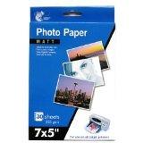 60feuilles papier photo mat 17,8x 12,7cm 235g/m²/Lot de 2paquets de 30