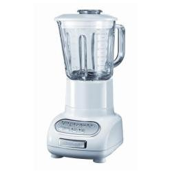 KitchenAid Artisan - Licuadora (Vidrio, Acero inoxidable, Color blanco, 50-60 Hz, 220-240V, 4,5 kg)