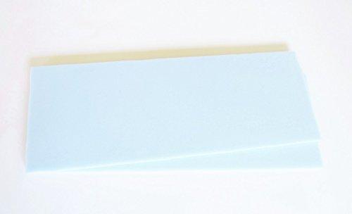 Zum Zuschneiden - 1 Paar Kaltschaum - Universal Einlagen für Sattelunterlagen oder Pads